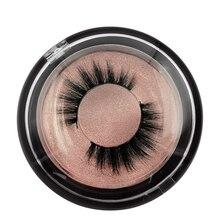 SHIDISHANGPIN  1 pairs eyelashes naturl long mink lashes hand made lashes 3D mink false lashes makeup 1 box false lashes цены онлайн