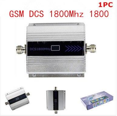 Chaude GSM DCS 1800 MHz Mobile Cell Phone signal Booster Répéteur gain 60dbi LCD affichage pour maison bureau