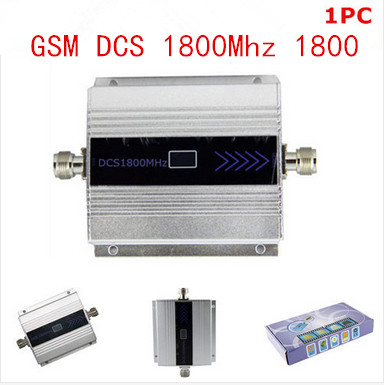 Hot GSM DCS 1800MHz Mobile Phone Cell Phone signal Booster Repeater gain 60dbi LCD display for house office