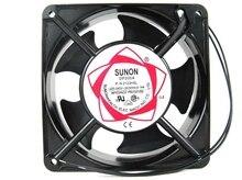 SUNON Copper 12038 HBL AC 220 Axial flow fan 120mm 120*120*38mm Industrial Cooling Fan 2 Wires double ball bearing
