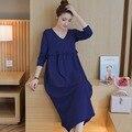 Мода Для Беременных Одежда Для Беременных dress Кормящих Платья Кормящих Платья Кормящих Одежда для беременных 2016 Новый