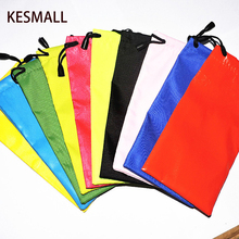 2016 Glasses Case Multi-Functional Cloth Cleaning Eyewear Sunglasses Bag Pouch Optical Glasses Case Eyeglasses Accessories 10pcs