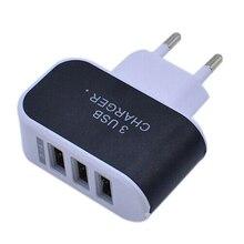 Carregador de Viagem AC para Xiaomi Portátil USB Adaptador de Carregador EUA Plug UE Casa Samsung Iphone PC