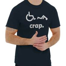 Fail Crap Handicap Wheelchair Fall Funny Shirt | Disabled Ow T Shirt Summer Men'S fashion Tee,Comfortable t shirt 2019 hot tees