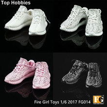 Fire Girl Toys 1:6 Scale Accessory Coconut Shoes Male Men' Spot Hollow shoes Running Sneakers Fit 12 Inch Phicen Action Figures(China)