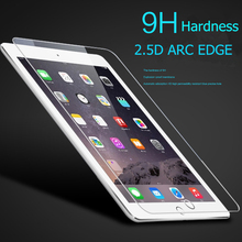 2piece/lot Arc Edge Tempered Glass for Apple New IPad 2018 9.7 Inch Screen Protector Film Hard Cover for ipad Screen