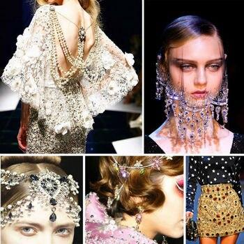 12pcs 8x13mm sew on teardrop silver setting Glass Crystal Jewellery Foiled Rhinestone stones DIY shoes/dress hair accessories 4