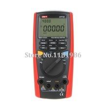 цена на UNI-T UT71D UT-71D LCD High Accuracy Data Storage 9999 Intelligent Digital Multimeter Volt Amp Ohm Capacitance Meter Thermometer