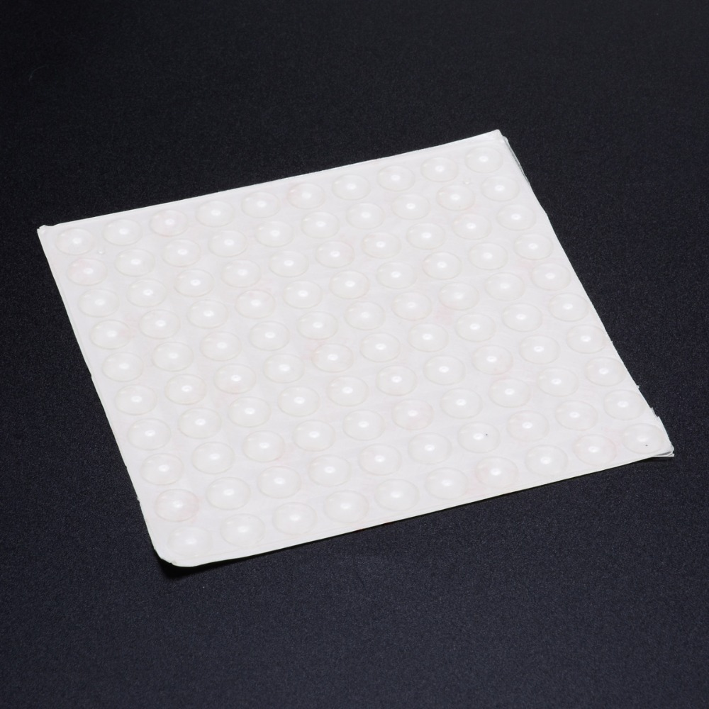 100PCS Self Adhesive Door Buffer Pad Rubber Silicone Feet Feet Clear Door Bumpers For Furniture Door Parts