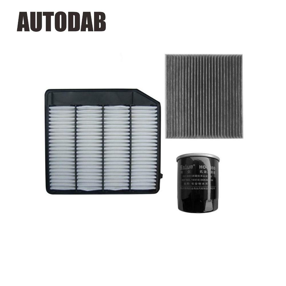 High Quality filters For Suzuki Vitara 1 4T SX4 SCROSS 1 4T air filter oil filter