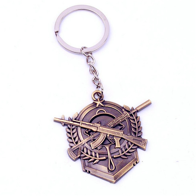 PUBG 27 Style Fortress Night Key Chain Toy