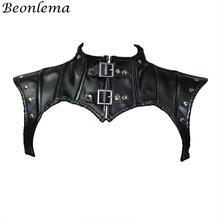 Женский корсет в стиле стимпанк beonlema черные готические топы
