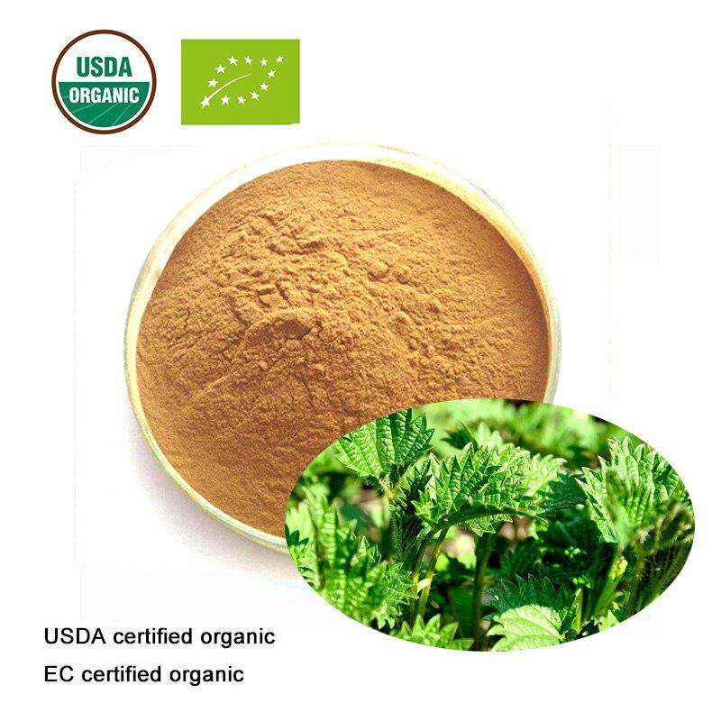 Schönheit & Gesundheit Freundschaftlich Usda Und Ec Certified Organic Nettle Extract 10:1 Beta Sitosterol GüNstige VerkäUfe