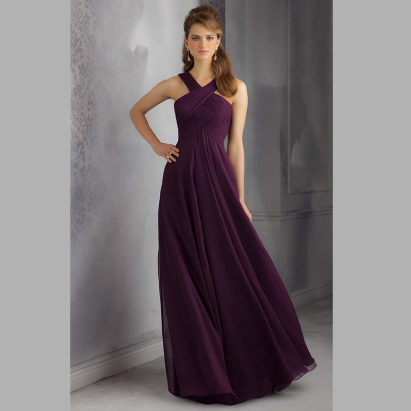 Online Get Cheap Dark Purple Bridesmaid Dresses -Aliexpress.com ...