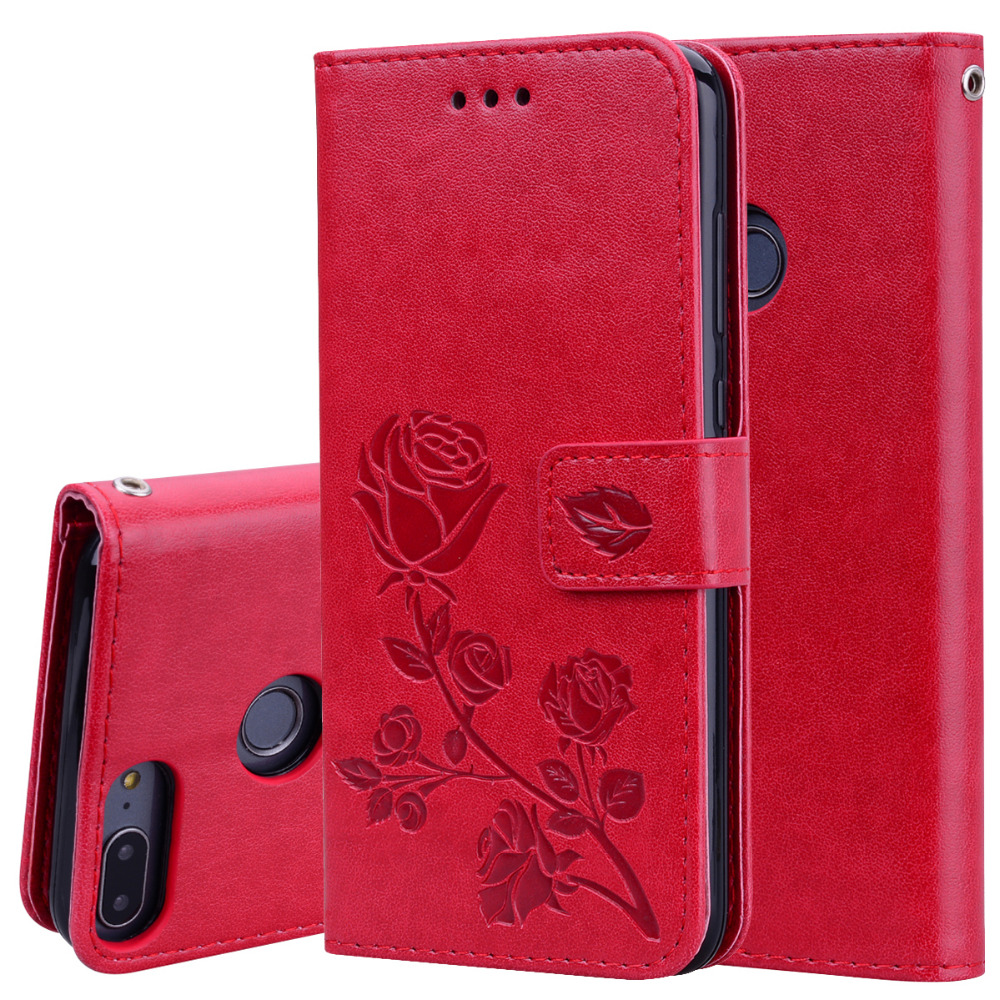Embossed Leather Wallet Case For Huawei Honor 9 Lite honor9 lite Cover Phone Bag Case For Huawei Honor 9Lite Cases Cover
