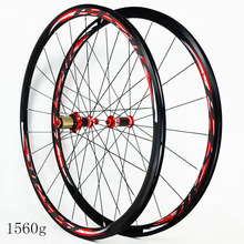 Pask 7/8/9/10/11 speed straight pull carbon hub 700c 7075 aluminum alloy  20/24 hole road bike wheels