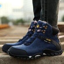 цена Mens outdoor Warm Snow Boots Winter Fur 2018 Work cashmere warm non-slip boots Men Footwear Fashion Shoes 38-47 Yasilaiya онлайн в 2017 году