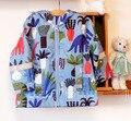 Дети / дети / мальчики холодный синий пиджак динозавр, Ветрозащитный / водонепроницаемая куртка, Капюшоном для весна / осень, Размер 92, 104