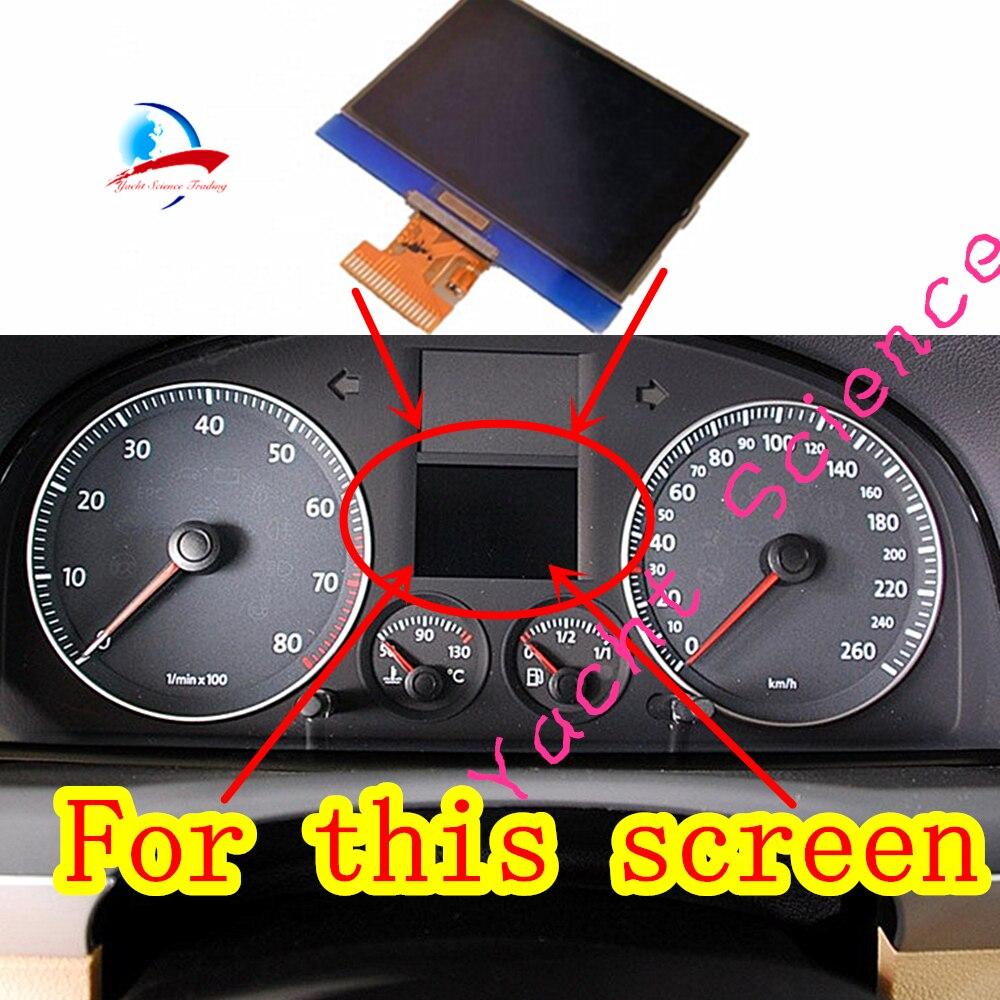 AUDI VW LCD DISPLAY VDO GROUP FOR REPAIR VDO INSTRUMENT