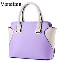2016 famous brand women s bag handbag pu leather bags for the patchwork fashion woman shoulder