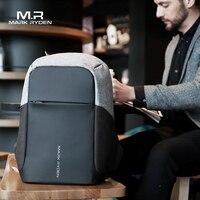 Mark Ryden Multifunction USB Charging Men 15 inch Laptop Backpacks For Teenager Fashion Mochila Male Backpack Travel Anti Theft