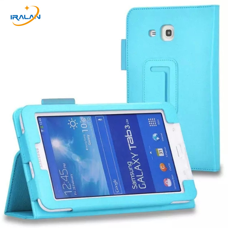 Case For Samsung Galaxy Tab 3 lite 7.0 T110 T111 Tablet pu leather Stand Cover for Samsung Tab tab E 7.0 T113 T116+Stylus+film pu leather case cover for samsung galaxy tab 3 10 1 p5200 p5210 p5220 tablet