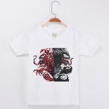2019 New Arrivals Brand Tshirt Boys Kids t Shirt Half Sleeve Cotton Fashion Popular Tops Venom Printed Child Basic