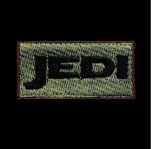 Parche personalizado disponible con el LOGO bordado de la moral de los jedis en el pachmulitcam/STAR WARS/ZOMBIE HUNTER/RANGER