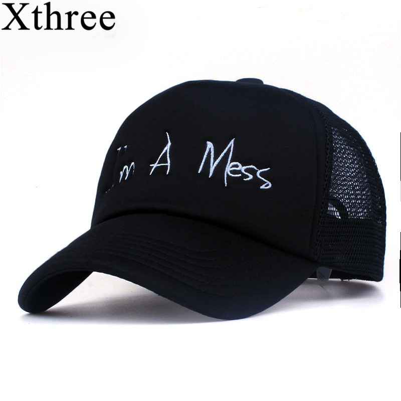 Xthree new mesh baseball cap summer girl snapback hat for men women gorra bone casual casquette 5 panels Adjustable cntang brand summer lace hat cotton baseball cap for women breathable mesh girls snapback hip hop fashion female caps adjustable