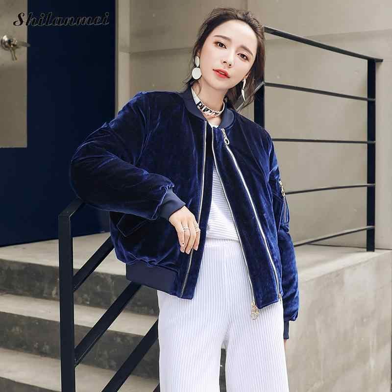 Корейская мода Винтаж зимние пальто Женская куртка-парка Pleuche лоскутное  молнии с длинным рукавом Короткие 5af6a492eac