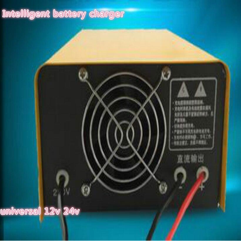 Universel 12 V 24 V batterie externe saut démarreur voiture chargeur batterie voiture batterie saut démarreur chargeur de batterie fit 60A 100A 150AH - 2