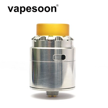 vapesoon Reload X RDA 24mm Atomizer with BF Pin Rebuildable Dripping Atomizer Top Airflow Design Fit Squonk BF Box Mod surveillance camera
