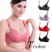 Mozhini Fashion women push up bra thick cup lady Intimates gather breast Women Underwear big Bra anti Emptied sexy