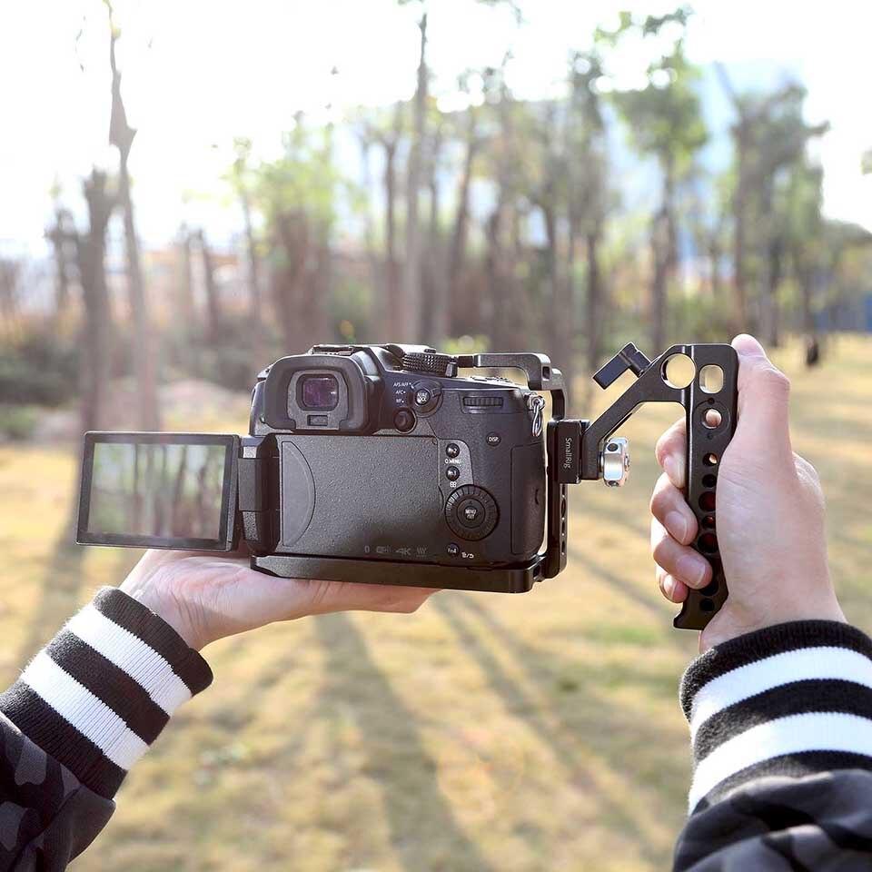 estabilizador liberação rápida sapato alça para câmeras
