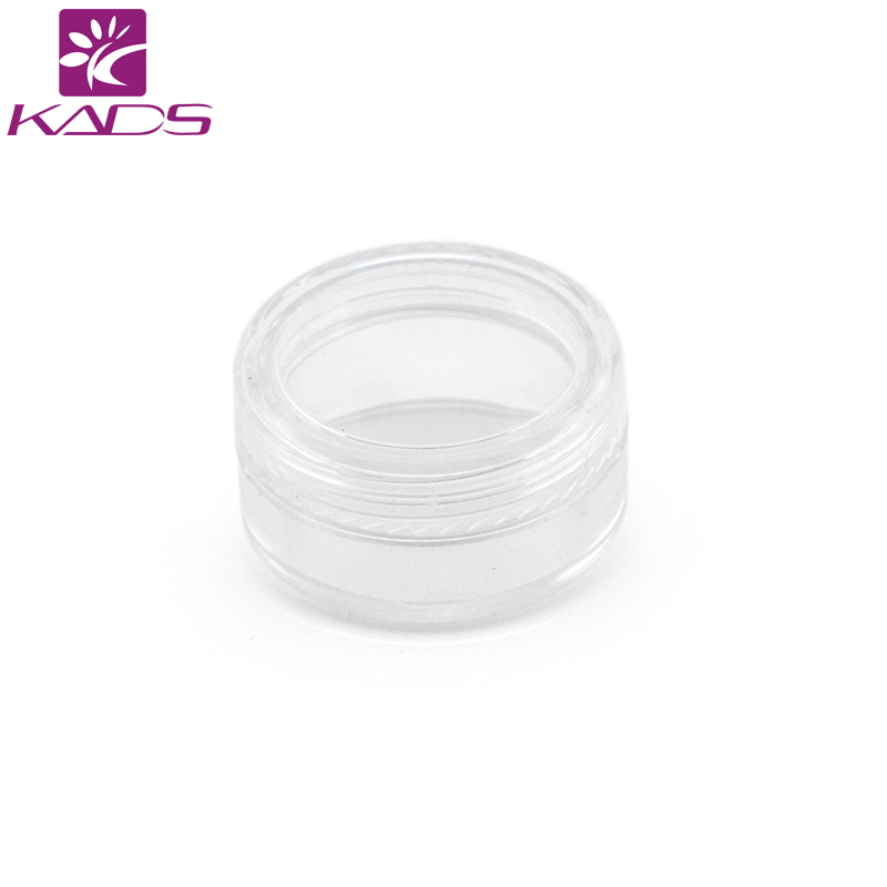 HOTSALE 100PCS/LOT 5g cream bottle,clear empty plastic cream bottle,nail art glitter dust powder case,cream pot Decoration case hotsale 100