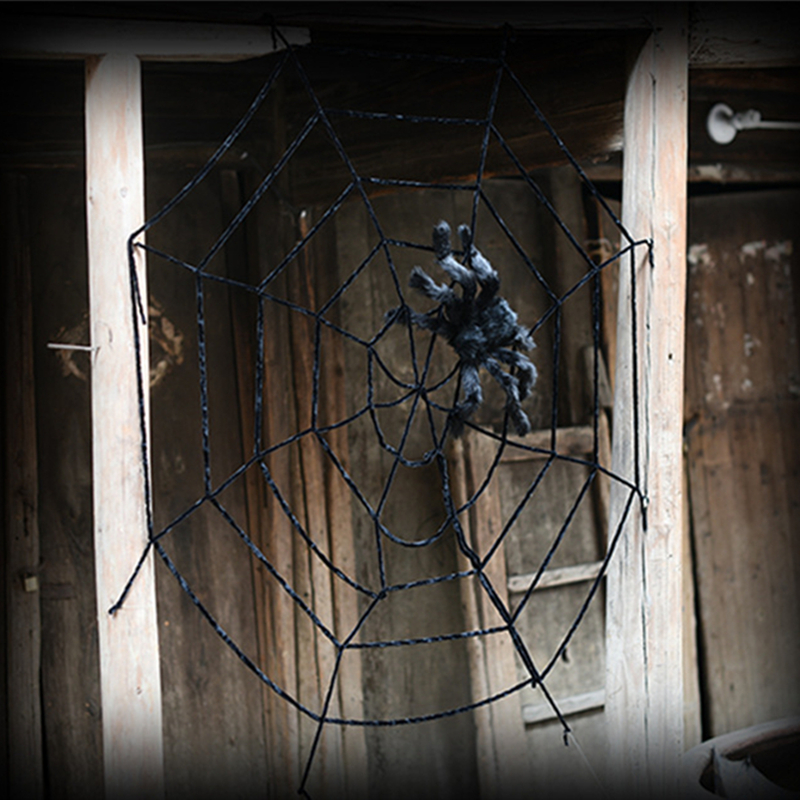 Decorating With Spider Webs For Halloween | Halloween Scary Party Scene Props Stretchy Cobweb Layout Spider Web