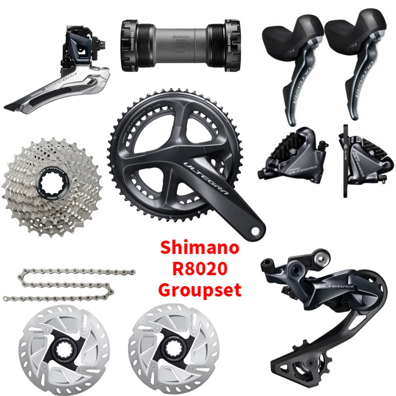 Shimano Ultegra R8020 R8070 11 Speed Groupset  Road Disc Brake GroupsetShimano Ultegra R8020 R8070 11 Speed Groupset  Road Disc Brake Groupset