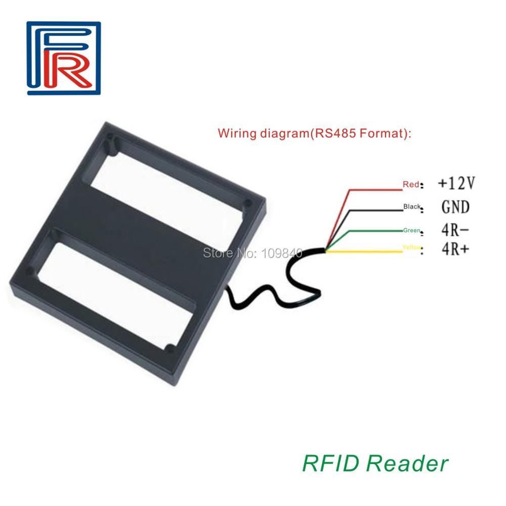 2018 125KHZ 1M RFID Mid Long Range Reader for Outdoor Parking System use EM cards цены онлайн