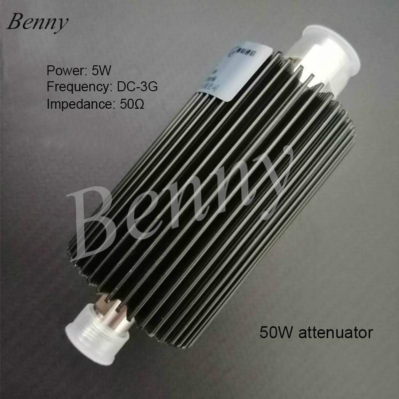 50 W atenuador N-tipo coaxial atenuador fixo 10 15 20 30 DB