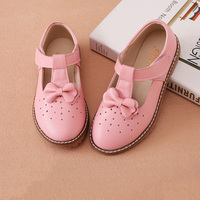 Baby Girl Shoes Toddler Girl Shoes For Children's Footwear Princess Hollow Pink Breathable Hooks Child Shoe SH018