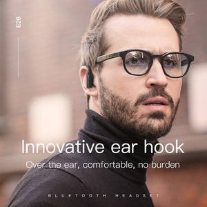 Image 3 - 高速オンチップ · ミニ Bluetooth イヤーフックイヤホンスーパー低音ワイヤレスヘッドセットイヤフォン用 iphone × huawei P20