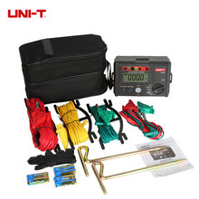 UNI-T UT522 Digital Earth Ground Resistance Tester Lightning Rod Detector Low tester