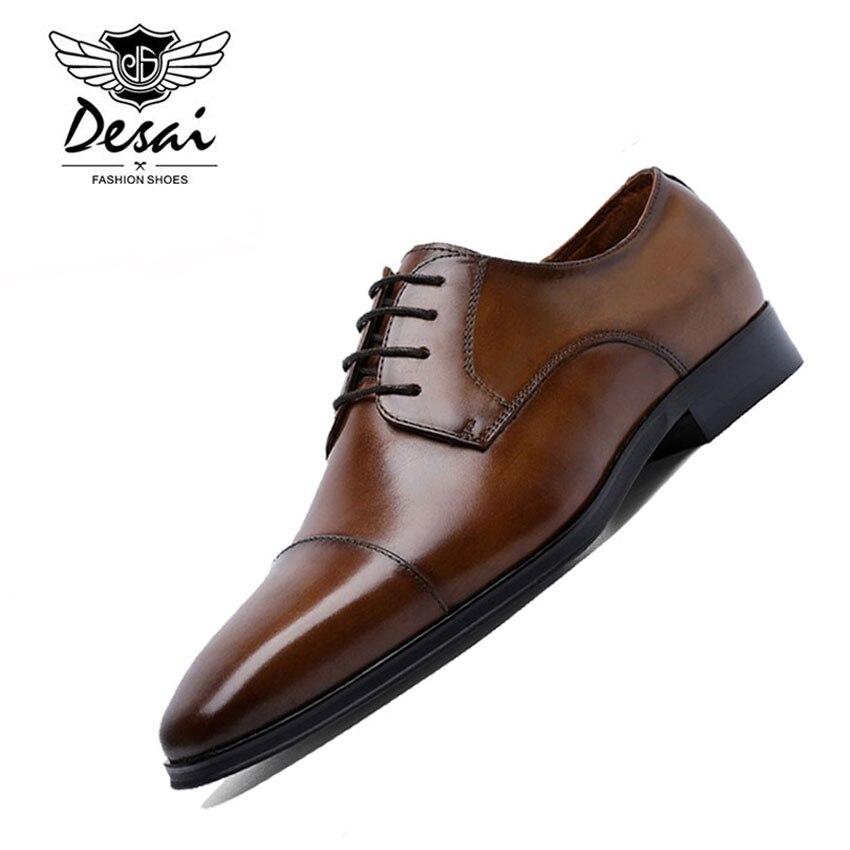 Neue Ankunft Schuhe herren Business Anzüge Leder Britischen Stil Schuhe Männer Kleid Hochzeit Schuhe Atmungsaktiv Eur Größe 38  47-in Formelle Schuhe aus Schuhe bei  Gruppe 1