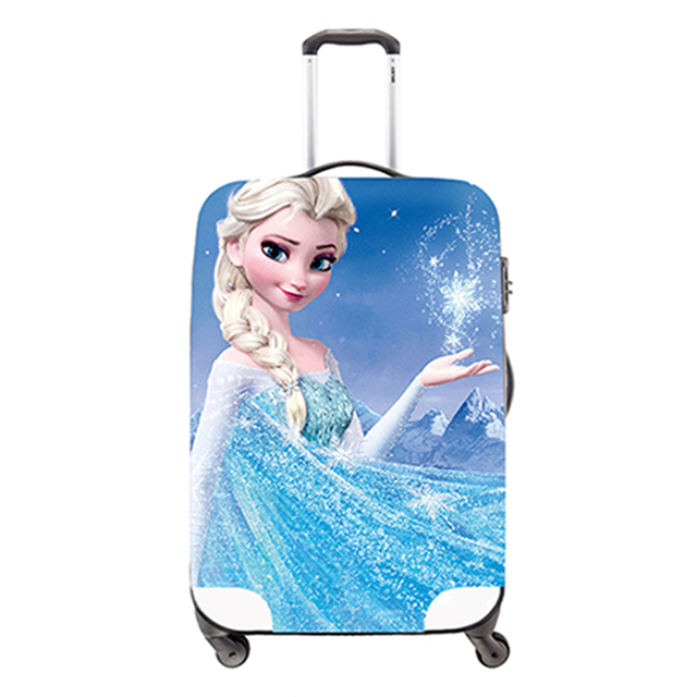 Dispalang Bonito spandex tampas de bagagem, bagagem tampas de proteção à prova d' água dos desenhos animados, meninas Acessórios de Viagem se aplicam a 18 ''-30''