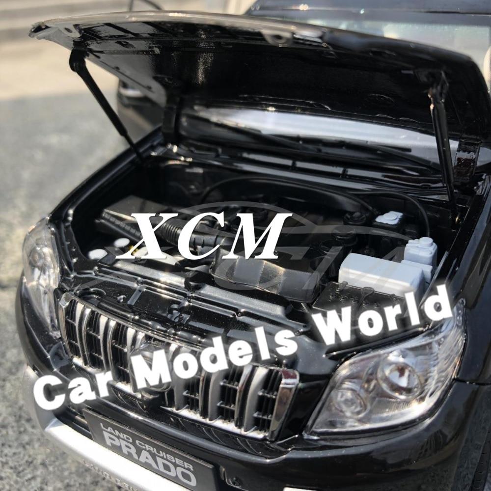 ¡Modelo de coche fundido para Land Cruiser Prado sin calcomanía 1:18 (negro) + pequeño regalo!-in Troquelado y vehículos de juguete from Juguetes y pasatiempos    3