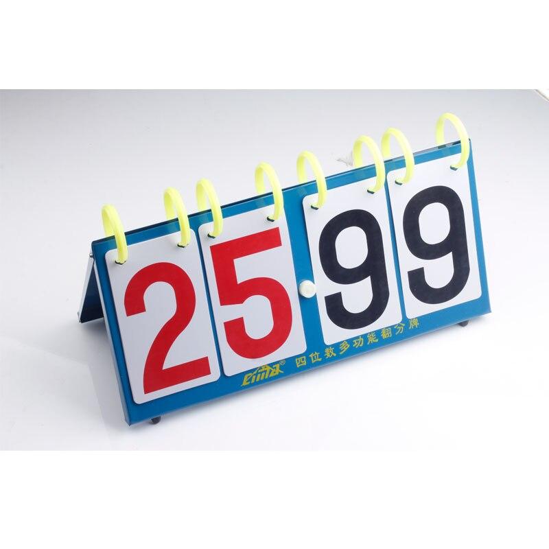 CIMA Soccer Score board Portable 4 digit basketball scoreboard volleyball handball tennis Sports score board Wholesale