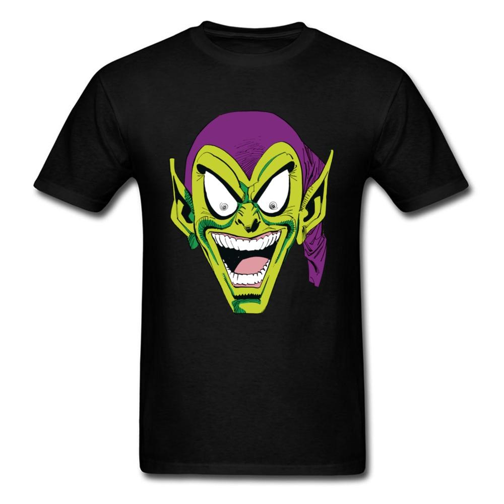Party T-Shirt Star Wars Tshirt Man T Shirt Menacing Green Goblin Tops Tees Designer Father Day Funny Cotton Short Sleeve Clothes