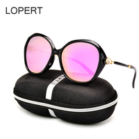 LOPERT Fashion Polarized Sunglasses Women Retro Style Sun Glasses Brand Designer Driving Glasses Oculos Feminino UV400