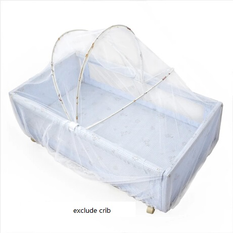 2017 Baby Crib Cot Insect Mosquitoes Wasps Flies Net for Infant Cradle Folding Crib Netting Child