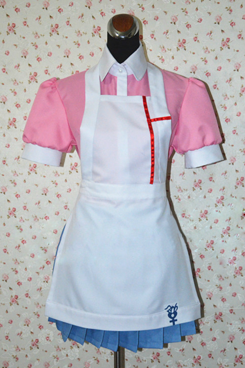 Game Dangan Ronpa 2 Cosplay Anime Danganronpa Costume Mikan Tsumiki Uniform Maid Outfit Apron Dress Cosplay